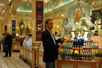 harrods food hall in london