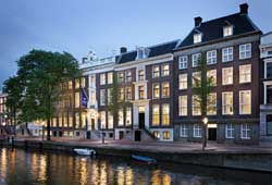 Das Luxushotel Waldorf Astoria in Amsterdam