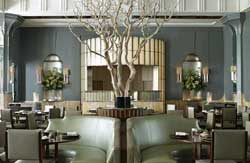 "Restaurant ""Fera"" im Hotel Claridge's in London"